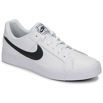 Shoes Men Low top trainers Nike COURT ROYALE AC White / Black