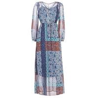 material Women Long Dresses Cream SAMA Multicoloured