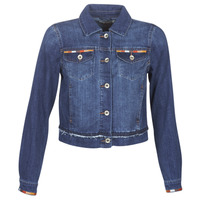 material Women Denim jackets Cream DIWA Blue