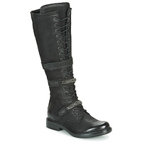 Shoes Women Boots Mjus CAFE HIGH Black
