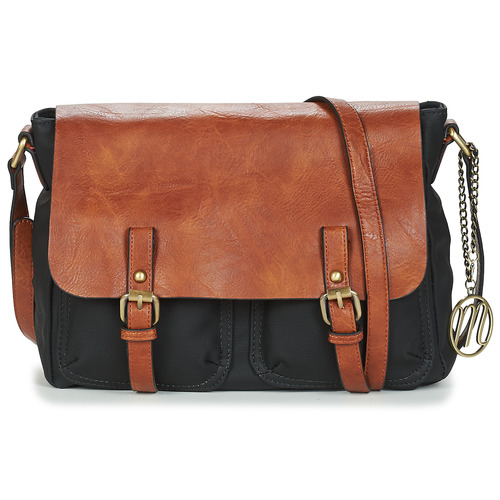 Bags Women Shoulder bags Moony Mood INANOUTE Black / Camel