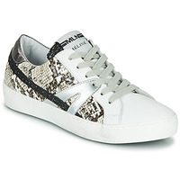 Shoes Women Low top trainers Meline PANNA White / Phyton