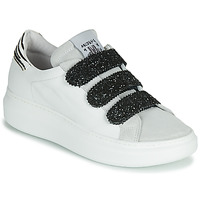 Shoes Women Low top trainers Meline SCRATCHO White / Glitter