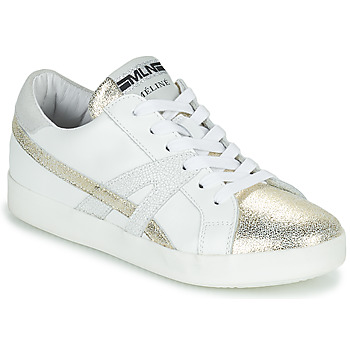 Shoes Women Low top trainers Meline CRINO White