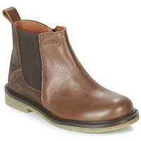 Shoes Girl Mid boots Aster WAXOU Brown