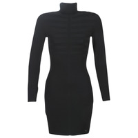 material Women Short Dresses Morgan RMENTO Black