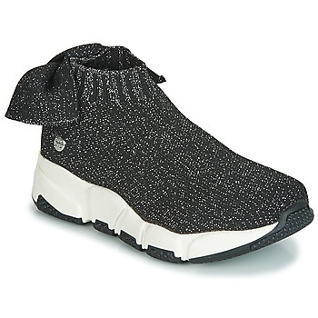 Shoes Girl High top trainers Gioseppo DIEST Black / Glitter