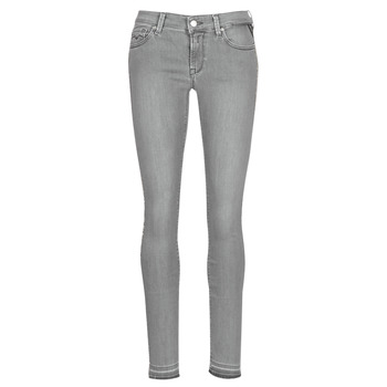 material Women slim jeans Replay LUZ Grey