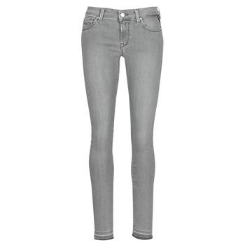 material Women slim jeans Replay LUZ Grey
