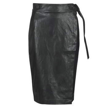 material Women Skirts Replay W9310-000-83468-098 Black