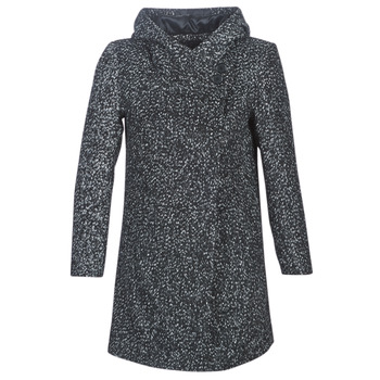material Women coats Casual Attitude LOUA Grey / Black