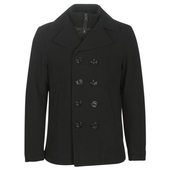 material Men coats Schott CYCLONE3 Black