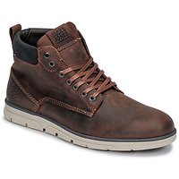 Shoes Men Mid boots Jack & Jones JFW TUBAR LEATHER Brown