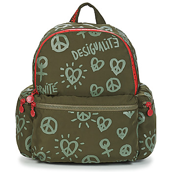 Bags Women Rucksacks Desigual FULLY OSS MINI Kaki
