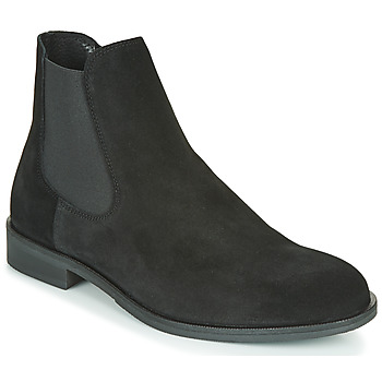 Shoes Men Mid boots Selected LOUIS SUEDE CHELSEA Black