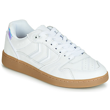 Shoes Women Low top trainers Hummel HB TEAM SNOW BLIND White