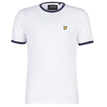 material Men short-sleeved t-shirts Lyle & Scott TS705V-Z660 White