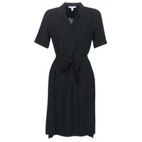 material Women Short Dresses Esprit 079EE1E011-003 Black
