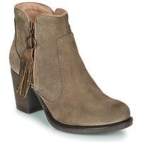Shoes Women Ankle boots PLDM by Palladium SORTILEG Grey