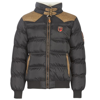 material Men Duffel coats Geographical Norway ABRAMOVITCH-NOIR Black