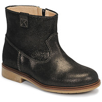 Shoes Girl Mid boots Pablosky 475157 Bronze