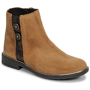 Shoes Girl Mid boots Pablosky 475288 Camel