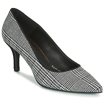 Shoes Women Court shoes Fericelli LUCINDA Black / White