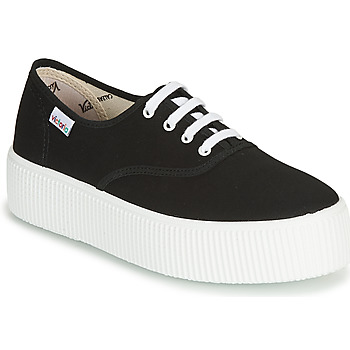 Shoes Women Low top trainers Victoria 1915 DOBLE LONA Black