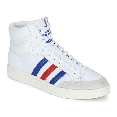Shoes High top trainers adidas Originals AMERICANA HI White / Blue / Red