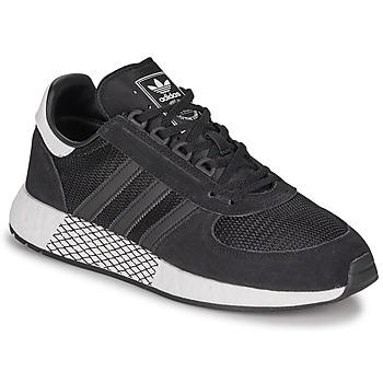 Shoes Men Low top trainers adidas Originals MARATHON TECH Black