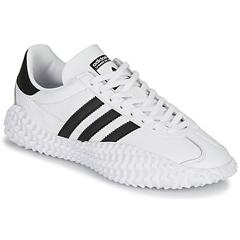 Shoes Men Low top trainers adidas Originals COUNTRYXKAMANDA White / Black