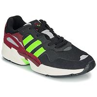 Shoes Men Low top trainers adidas Originals YUNG-96 Black / Green