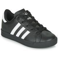 Shoes Children Low top trainers adidas Originals COAST STAR C Black / White