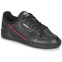 Shoes Children Low top trainers adidas Originals CONTINENTAL 80 J Black