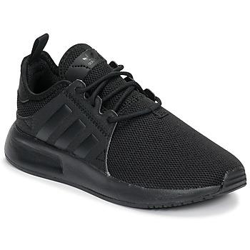 Shoes Boy Low top trainers adidas Originals X_PLR C Black