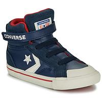 Shoes Children High top trainers Converse PRO BLAZE STRAP - HI Navy
