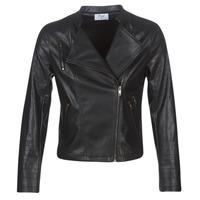 material Women Leather jackets / Imitation le Moony Mood LAVINE Black