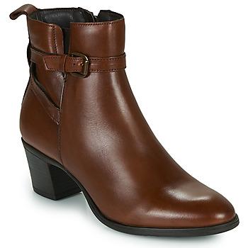 Shoes Women Ankle boots Betty London LAVANDA Cognac