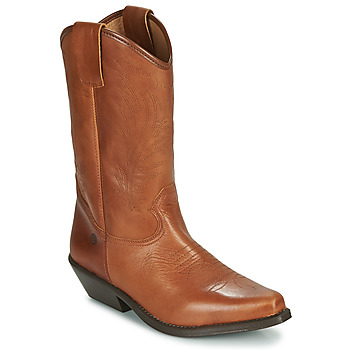 Shoes Women Boots Betty London LOVA Cognac