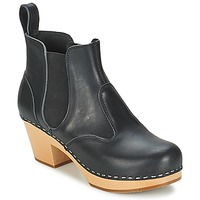 Shoes Women Ankle boots Swedish hasbeens CHELSEA Black