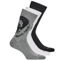 Accessorie Men Socks Diesel SKM-RAY-THREEPACK-0EASX-E3843 Black / Grey / White