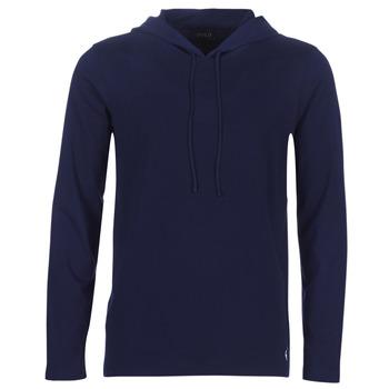 material Men sweaters Ralph Lauren L/S HOODIE-HOODIE-SLEEP TOP Marine