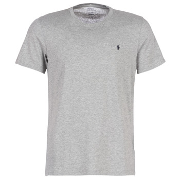 material Men short-sleeved t-shirts Polo Ralph Lauren S/S CREW-CREW-SLEEP TOP Grey