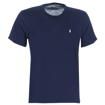 material Men short-sleeved t-shirts Polo Ralph Lauren S/S CREW-CREW-SLEEP TOP Marine
