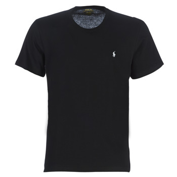material Men short-sleeved t-shirts Polo Ralph Lauren S/S CREW-CREW-SLEEP TOP Black
