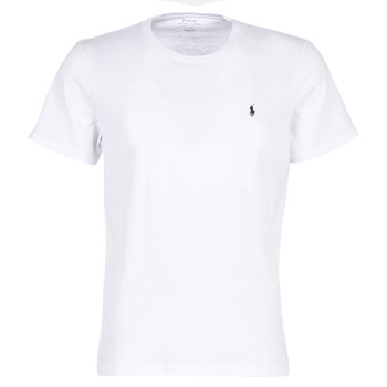 material Men short-sleeved t-shirts Polo Ralph Lauren S/S CREW-CREW-SLEEP TOP White