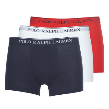 Underwear Men Boxer shorts Polo Ralph Lauren CLASSIC-3 PACK-TRUNK Blue / White / Red