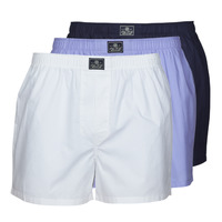 Underwear Men Boxers Polo Ralph Lauren OPEN BOXER-3 PACK-BOXER White / Blue / Marine