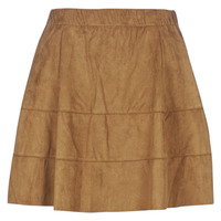 material Women Skirts Noisy May NMLAUREN Cognac