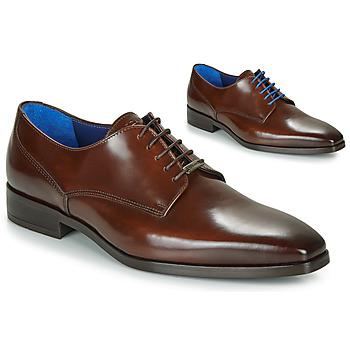 Shoes Men Derby shoes Azzaro POIVRE Brown
